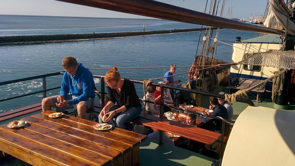 zeilen op IJsselmeer of Waddenzee met de driemastklipper Noorderlicht vanuit Harlingen