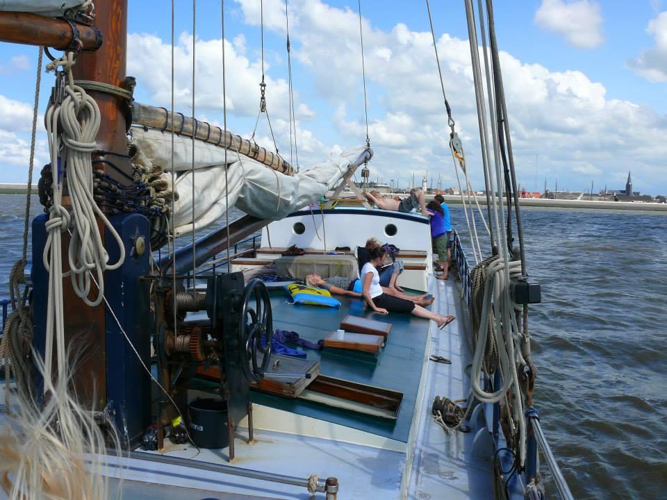 zeilen op IJsselmeer of Waddenzee met de oostzeetjalk Noordfries vanuit Harlingen