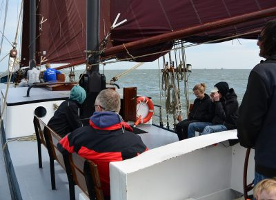 zeilen op IJsselmeer of Waddenzee met de tweemastklipper Noordvaarder vanuit Harlingen
