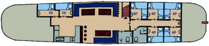 schip huren op IJsselmeer of Waddenzee : de koftjalk Onderneming vanuit Lemmer