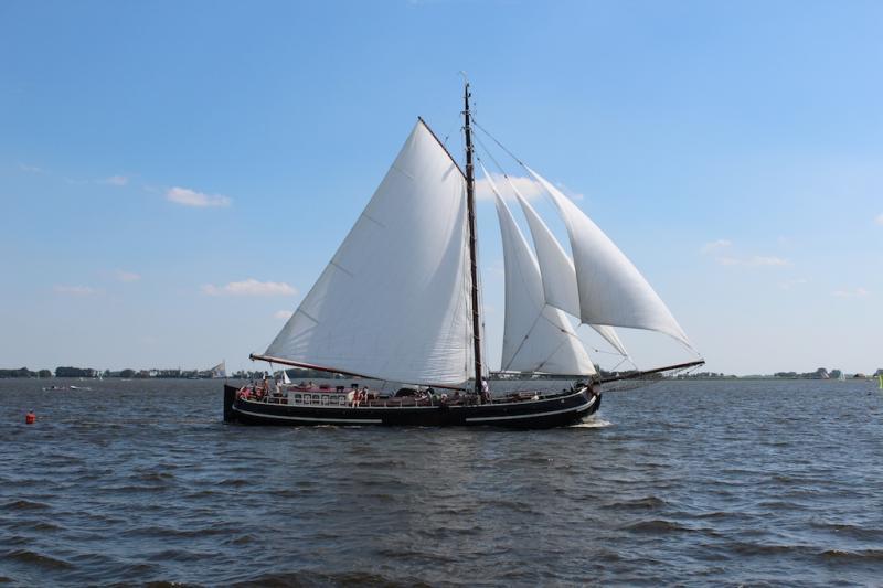 Segeln auf IJsselmeer oder Wattenmeer mit der Tjalk Orion ab Monnickendam