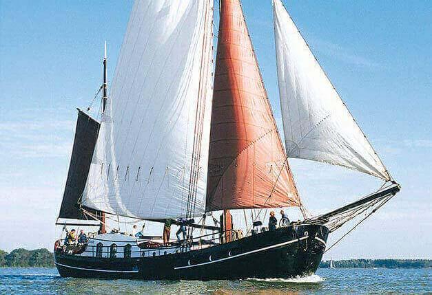 Segeln auf IJsselmeer oder Wattenmeer mit der Hagenaar Phoenix ab Muiden