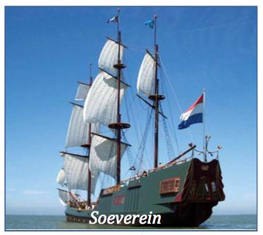 Segeln auf IJsselmeer oder Wattenmeer mit der  Soeverein ab Lelystad