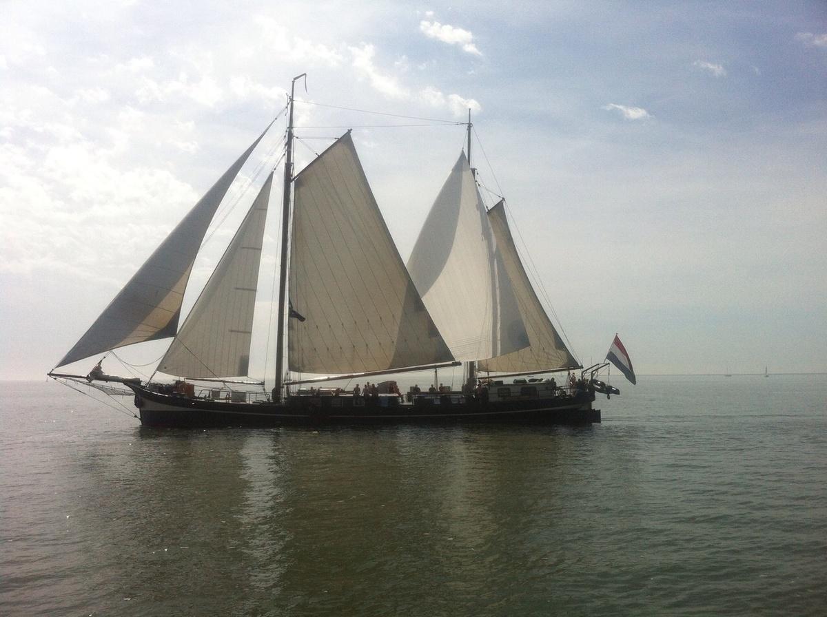 zeilen op IJsselmeer of Waddenzee met de klipper Sudwester vanuit Kampen