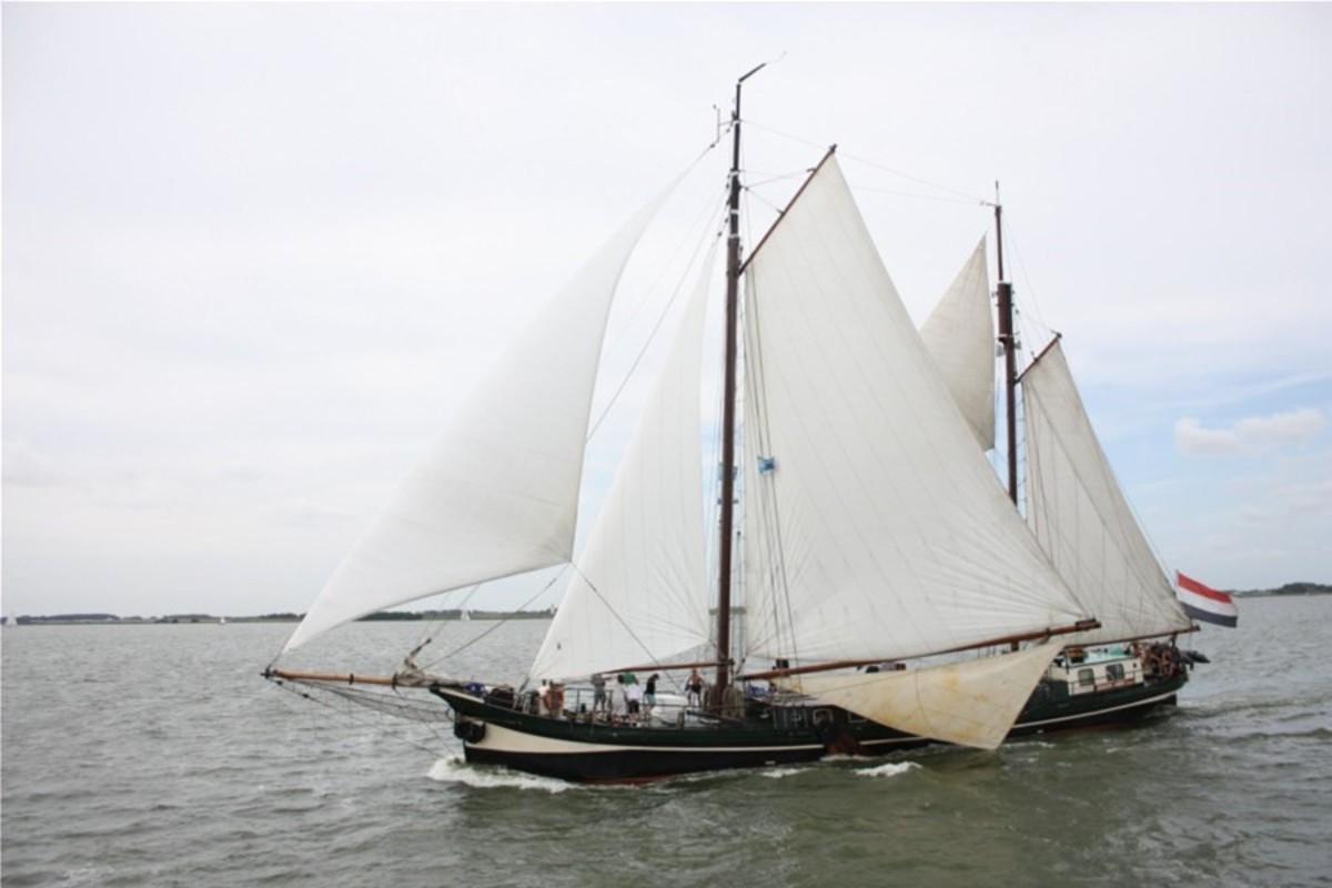 Segeln auf IJsselmeer oder Wattenmeer mit der Klipper Sudwester ab Kampen
