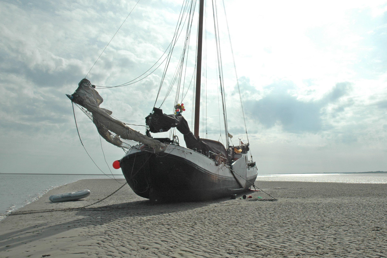 zeilen op IJsselmeer of Waddenzee met de tjalk Voorwaarts vanuit Stavoren
