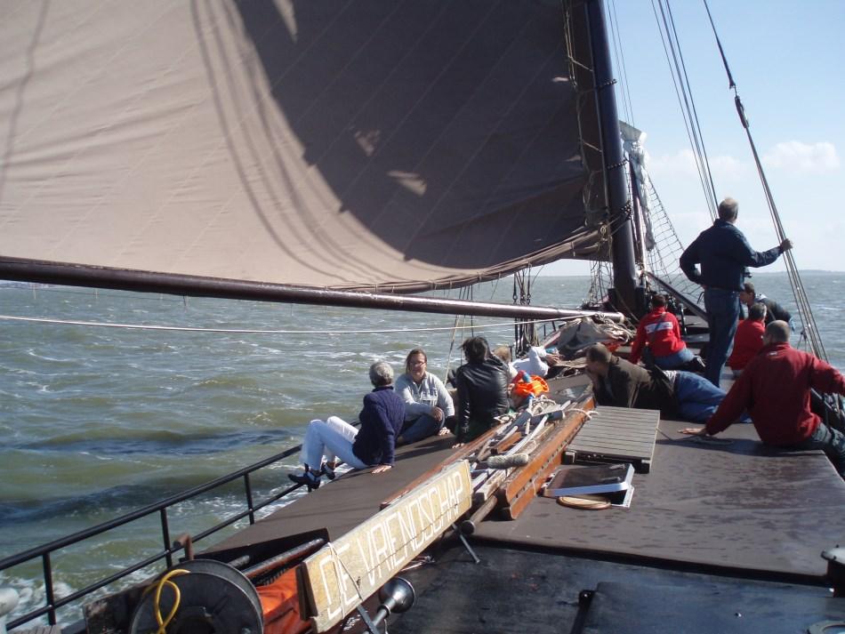zeilen op IJsselmeer of Waddenzee met de hagenaar Marinde vanuit Zoutkamp