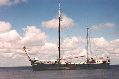 Segeln auf IJsselmeer oder Wattenmeer mit der Zweimastklipper Waddenzee ab Harlingen